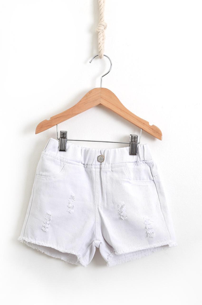 Shorts Jeans White